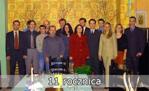 11-lecie firmy - październik 2002