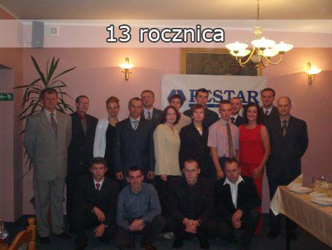 13 rocznica firmy PESTAR