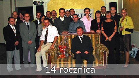 14 rocznica istnienia firmy PESTAR