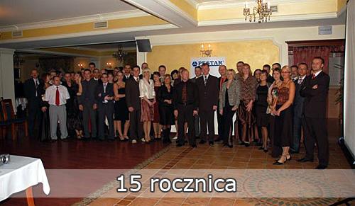 15-ta rocznica działalności firmy PESTAR