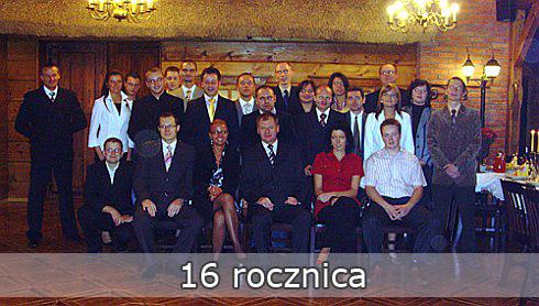 16 rocznica firmy PESTAR