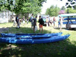 Spływ kajakowy 2011