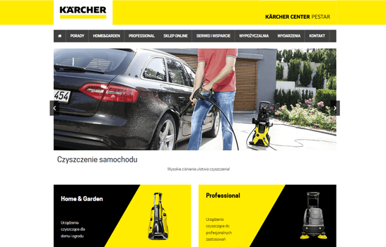 Salon i Seriws Karcher